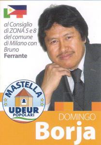 Borja Domingo per la zona 5 e 8