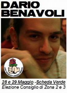 Nuova linfa in zona 2: con Dario Benavoli e la Rosa nel Pugno!